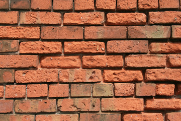 Extremely Rough 1890s Brick Wall