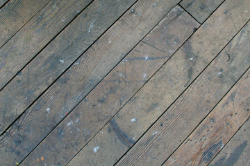 Vintage Industral Wood Floor