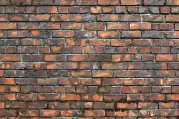 Vintage, Variegated Brick Wall