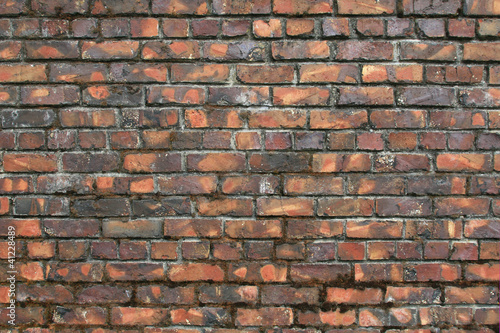 Vintage, Variegated Brick Wall