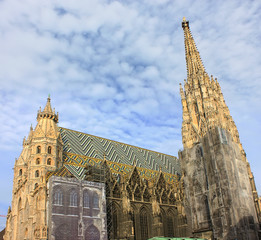 Stephansdom cathedral in Vienna