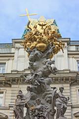 Plague column - Vienna.
