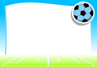 empty background with football theme