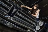 Sexy Mechanikerin