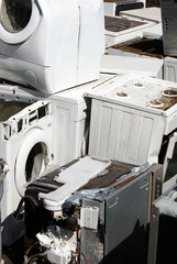 Dumped household machines