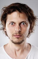 detailed face portrait