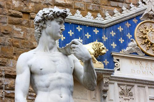 Florencja - David de Michel-Ange