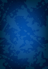 Lekeli mavi kağıt