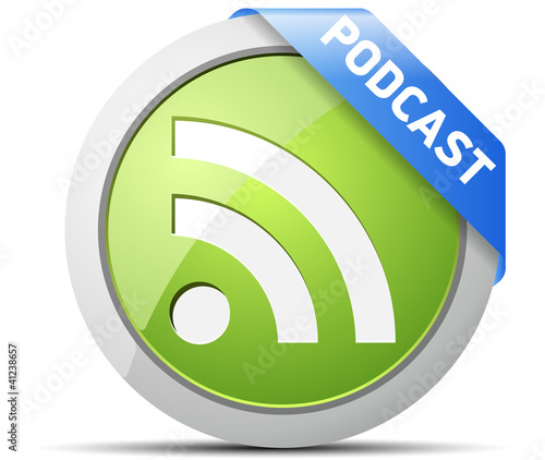 Podcast button