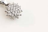 Gioiello in oro bianco con diamanti - 41239011