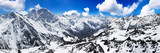 Fototapete Schnee - Pike - Hochgebirge