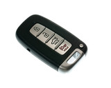 Keyless wireless door opener fob