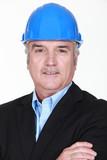 A portrait of an architect.