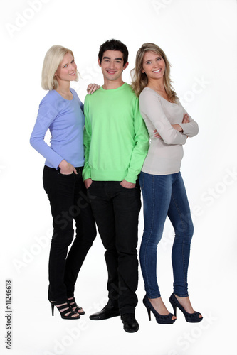 Man with women