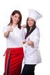 Koch und Kellner