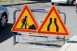 Panneaux de signalisation de chantier