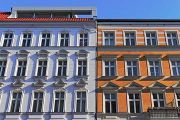 Restaurierte Altbauten
