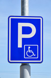 traffic sign wheelchair