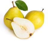 Fototapeta deser - na białym tle - Owoc