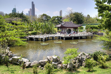 Chinese Garden, Kowloon Walled City Park, HK.