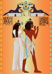 Egyptian - fresco