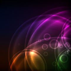 Shiny Circles, EPS10 Vector Background
