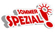 Sticker 3d Sommer Aktion