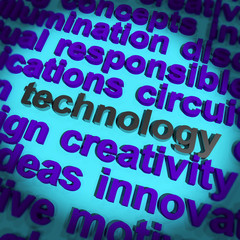 Technology Word Meaning Innovation Software Improvement And Hi T