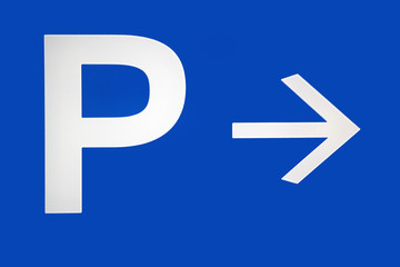 Parking turn right