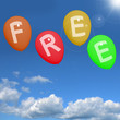 Balloons In Sky Spelling Free Showing Freebies and Promotions