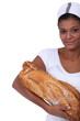 An African American female baker.