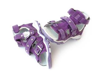 Purple Children's sandals