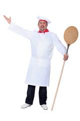 Chef singing