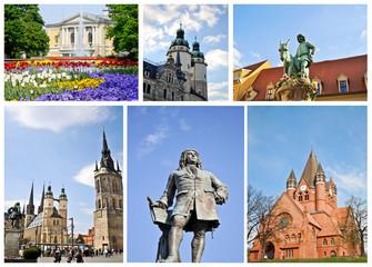 Collage Halle/Saale