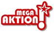 Sticker 2d Mega-Aktion