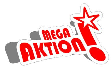 Sticker abstrakt Mega Aktion