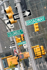 Broadway e Columbus Cross
