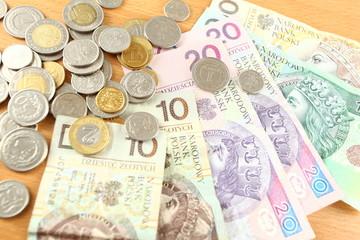 Money currency - Polish zloty