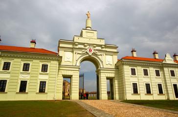 Ruzhany Palace, XVII century, residence of Sapieha, Belarus.