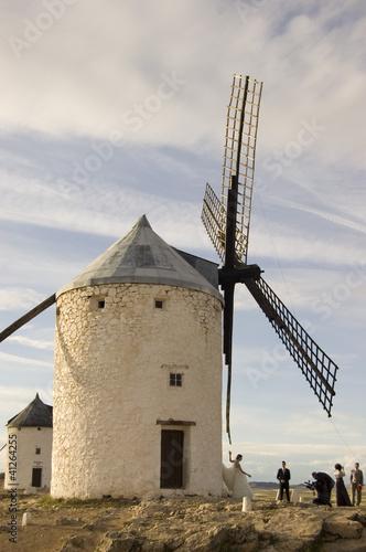 Molino de viento con Novia