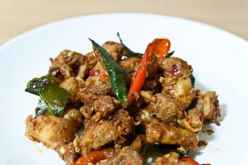 thai food is popular to eat