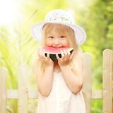 Fototapety Sommer, Sonne, Wassermelone!