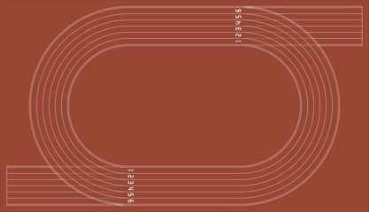 Running way Racetrack for design work
