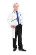 Full length portrait of a mature healthcare professional posing