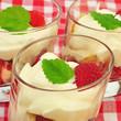 Mascarpone mit Erdbeeren