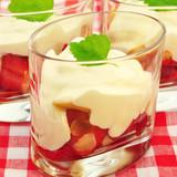 Nachtisch, Erdbeeren mit Mascaprone