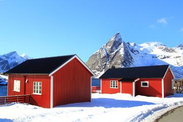 Rorbuer of west Lofoten
