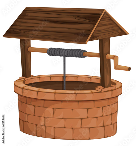 Illustration of an isolated well