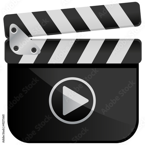 Movie Media Player Film Slate