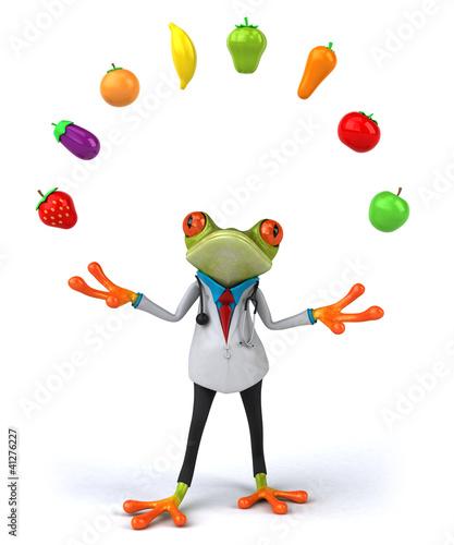 Grenouille docteur